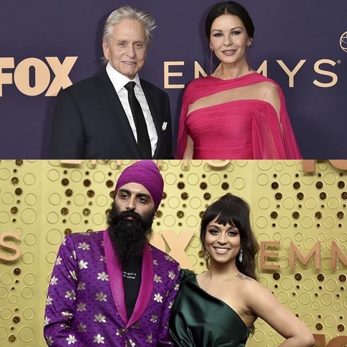 Las parejas de la noche de los Emmy 2019