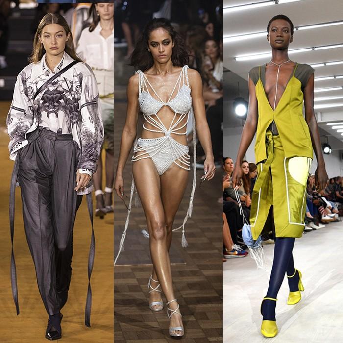 Los looks más llamativos del London Fashion Week