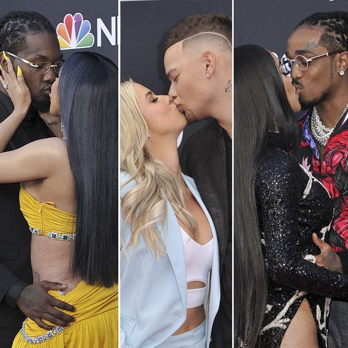 Las parejas que brillaron en la noche de los Billboards 2019