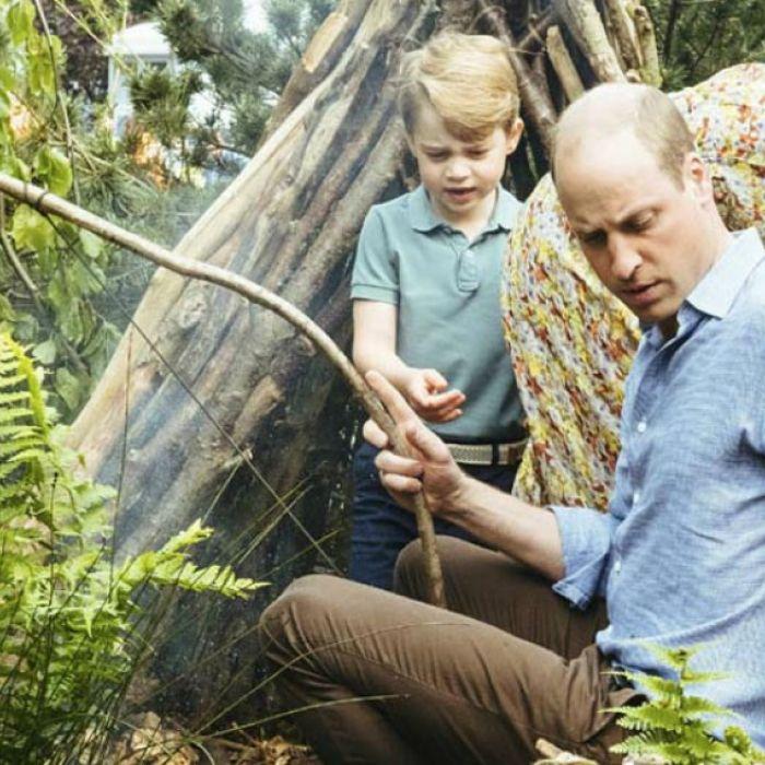 Un vistazo a los duques de Cambridge y sus hijos, en el jardín diseñado por Kate Middleton