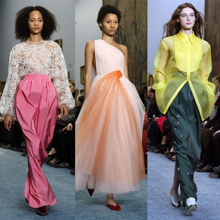 Explosión de color y elegancia en la pasarela de Carolina Herrera en Nueva York