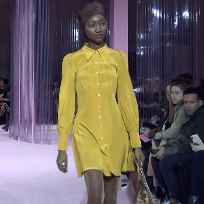 Kate Spade apuesta al retro chic en el New York Fashion Week