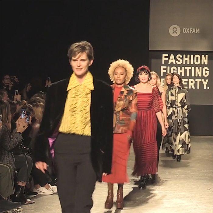 El mejor desfile del London Fashion Week no es nada de lo que te imaginas