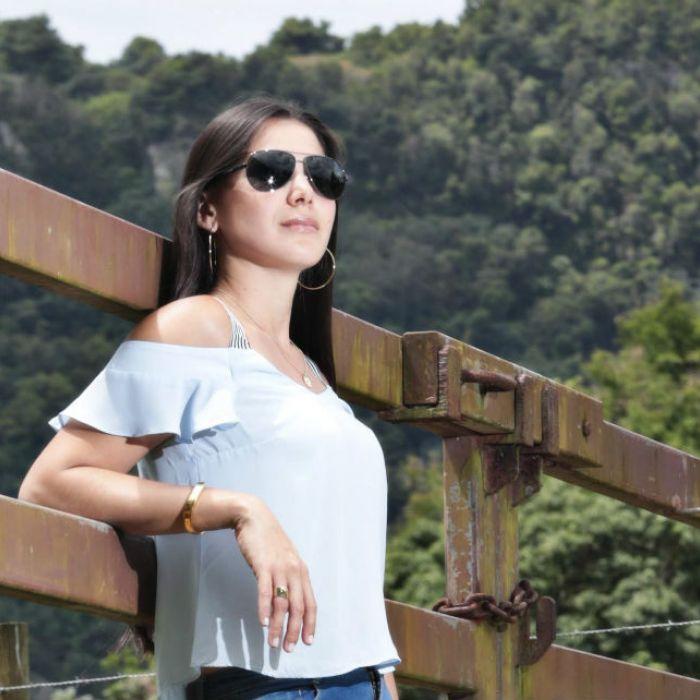 Gabriela Alvarado, una joven en la industria ganadera