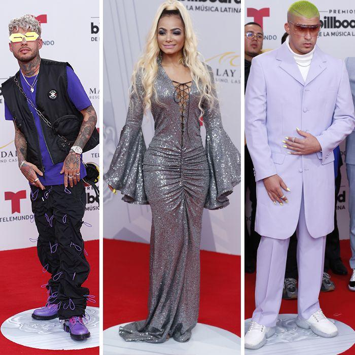 Los looks más llamativos de los Latin Billboards 2019