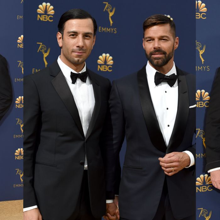 Las parejas más sexies de la noche de los Emmy