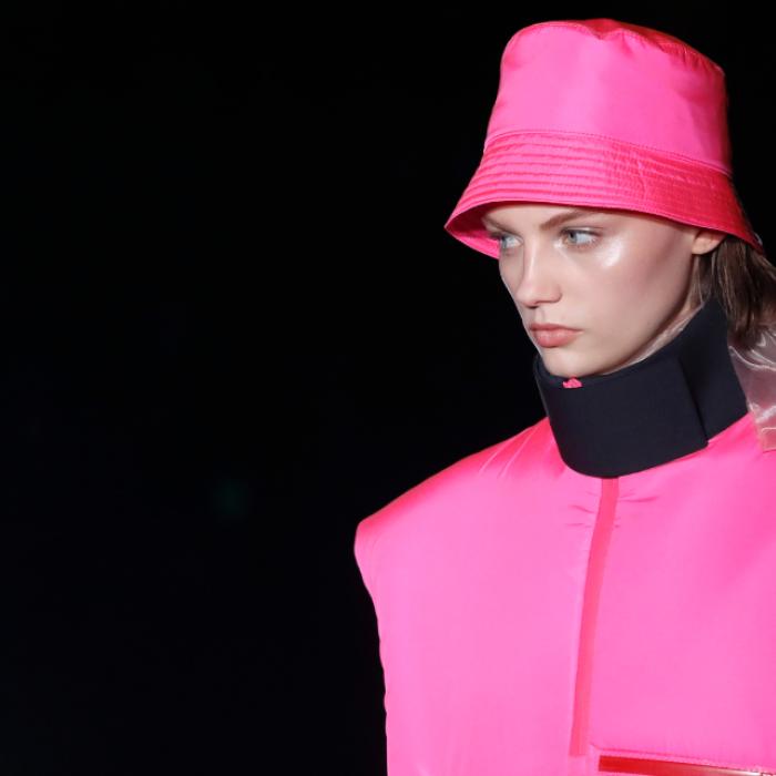 Los colores de neón en la nueva colección de Prada