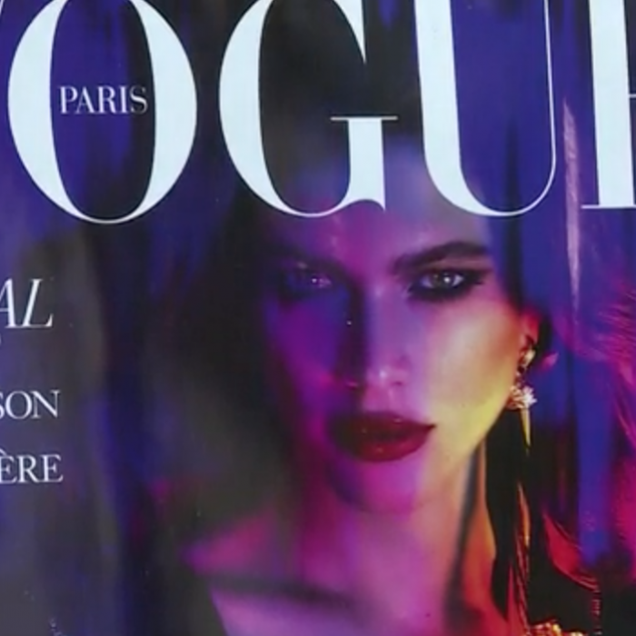 Valentina Sampaio, la primera modelo transgénero en llegar a la portada de Vogue