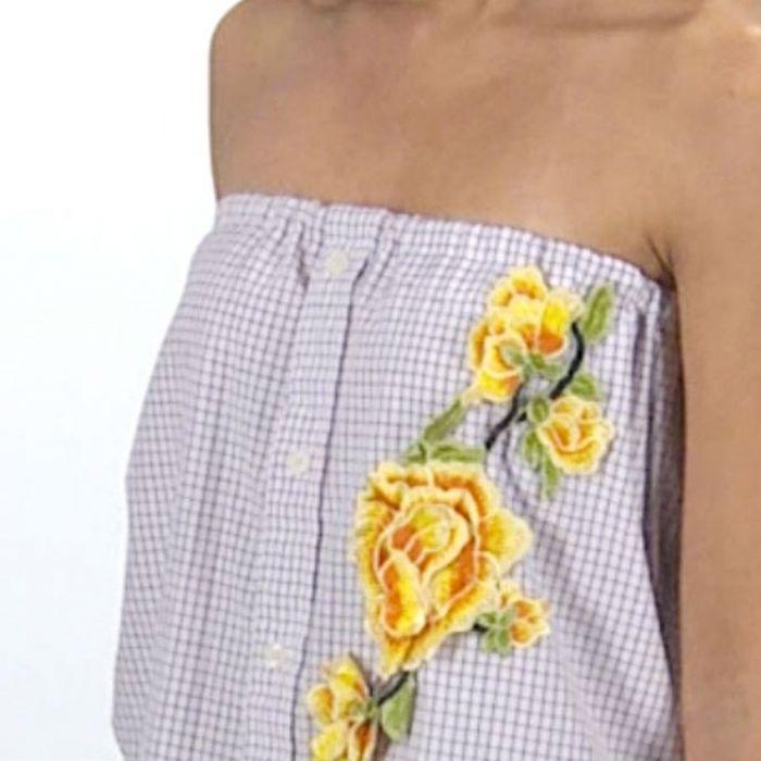 Transforma una camisa de botones en una hermosa blusa sin mangas