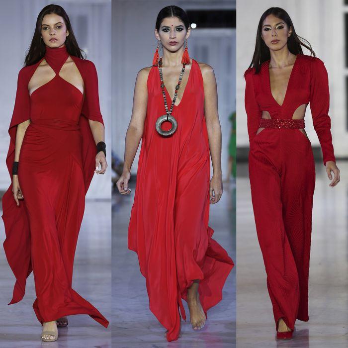 Color alert: así se llevará el ultra red según varios de los diseñadores de San Juan Moda